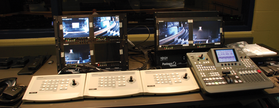Lemont High School Auditorium- Control Room