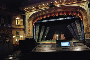The Rose Theater Audio Console- Omaha, NE